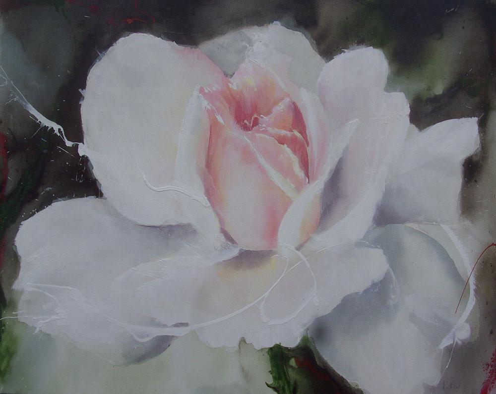 Heidi reil malerei for Acrylmalerei ideen
